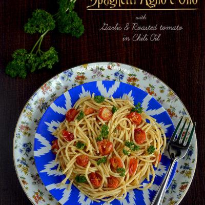 Spaghetti Aglio e Olio | Easy Pasta Recipe