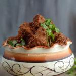 Bengali Kosha Mangsho Recipe food Photography