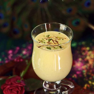 Thandai | Sardai | Spiced Chilled Almond Milk Drink | Holi Recipes