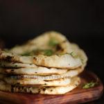 Vegan Naan Food Photography