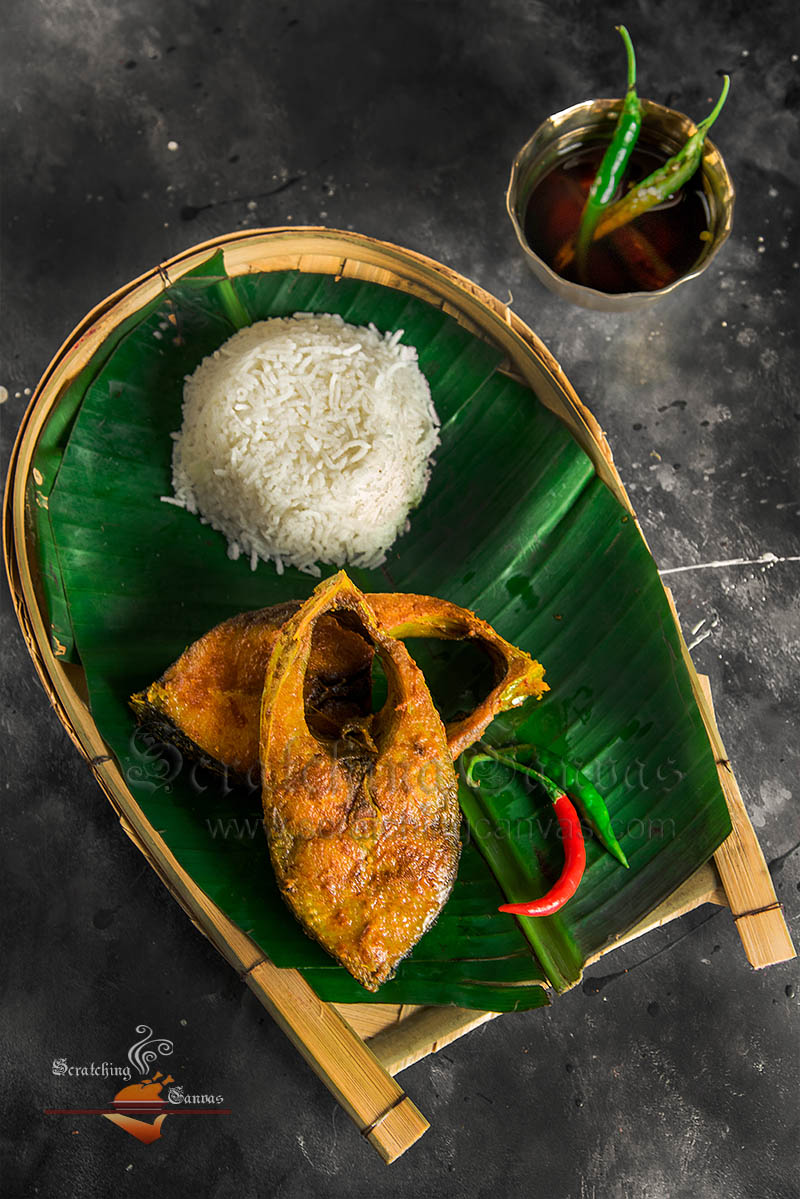 Ilish Mach Bhaja Food Photography Bengali Styling