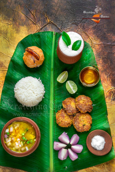 Bengali Traditional Spread Food Photography Styling