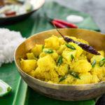 Bengali Pure vegetarian aloo posto
