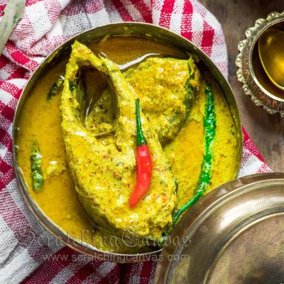 Bhapa Ilish Shorshe Recipe Video