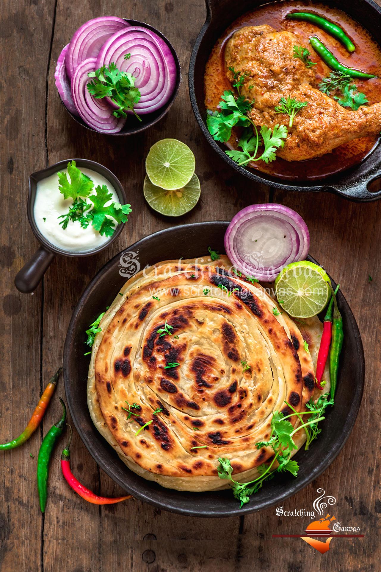 Laccha Paratha Easy Recipe Video